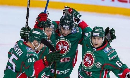 Две передачи Маркова помогли «АкБарсу» обыграть рижское «Динамо» вматче КХЛ