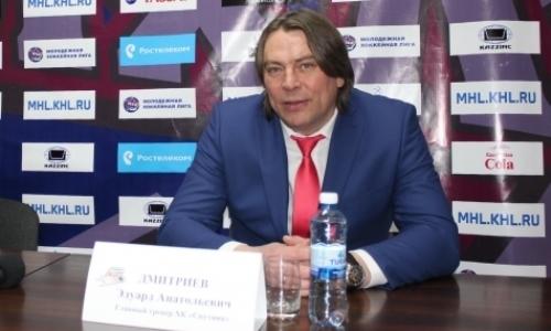 Эдуард Дмитриев: «В молодежном хоккее всё зависит прежде всего от настроя»