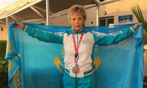 Стрелок из ЮКО завоевала серебро на соревнованиях в Кувейте