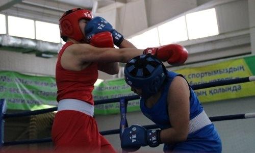 В Алматы определились чемпионки Казахстана по боксу