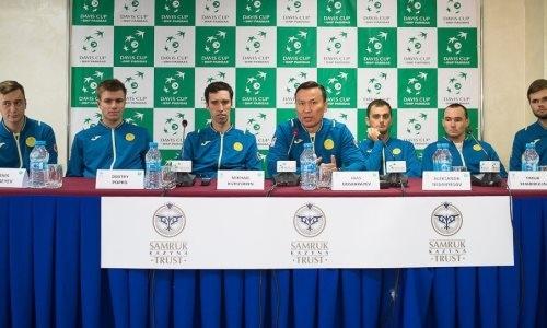 Матч Казахстан— Швейцария вКубке Дэвиса откроют Попко иЛааксонен