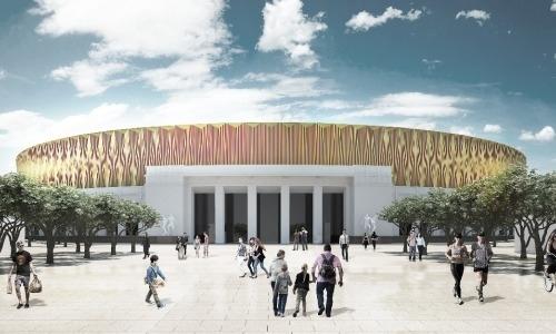 «Кайрат» представил концепт нового стадиона