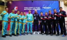 «Astana Arlans» выиграл все бои у «Patriot Boxing Team» в матче WSB