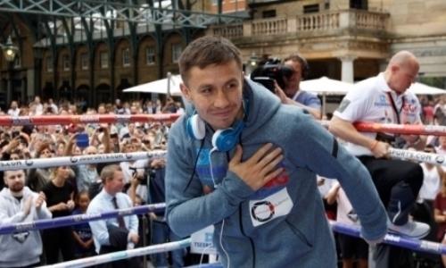 Головкин получил приз «Легенда бокса» изрук президента WBC