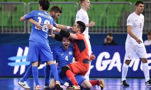 Польша — Казахстан 1:5. Показали класс