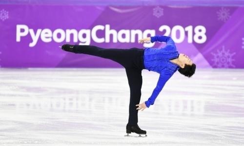 Фигурист Тен выполнил короткую программу на Олимпиаде-2018 в Пхёнчхане
