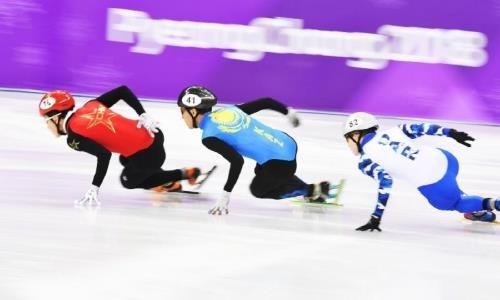 Знаменосец сборной Казахстана пробился вчетвертьфинал забега на500 метров