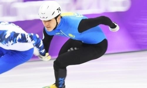Знаменосец сборной Казахстана выбыл изборьбы заолимпийскую медаль