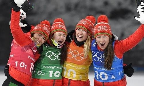 Олимпиада 2018, мужская эстафета вбиатлоне