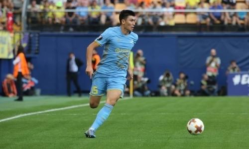 «Кайрат»: закончился 1-ый тайм матча Суперкубка Казахстана-2018 «Астана»