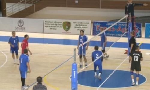 Международный турнир среди ветеранов стартовал в Таразе