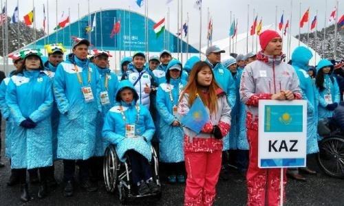 ВПаралимпийской деревне состоялась церемония поднятия украинского желто-голубого государственного флага