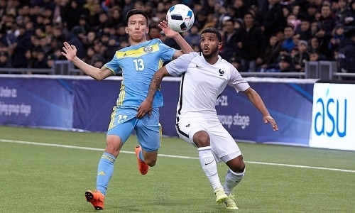 Казахстан U-21 — Франция U-21 0:3. Три гола за семь минут, или Когда уровень несопоставим