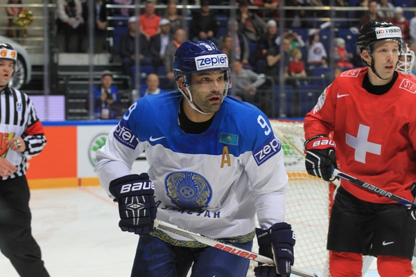 Найджел в сборной Казахстана