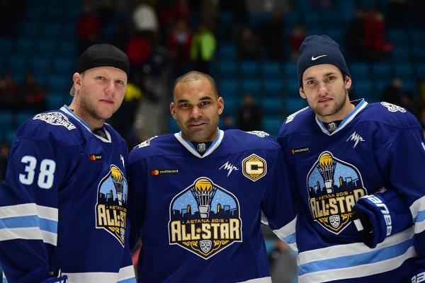 Даллмэн, Доус и Вей — участники Матча Звезд КХЛ-2018