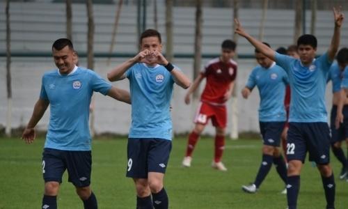 «Алтай» забил два безответных гола «Актобе-Жас»