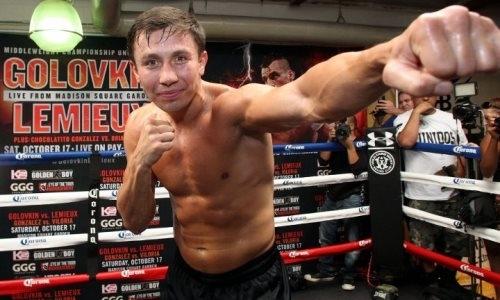 Головкин провел пресс-конференцию поповоду боя на5мая