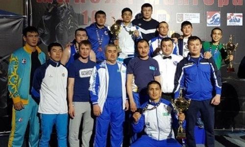 Боксеры сборной Казахстана завоевали три «золота» турнира в Украине