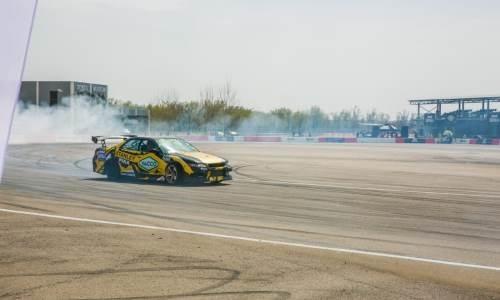 В Алматы прошел первый этап чемпионата Казахстана по дрифту