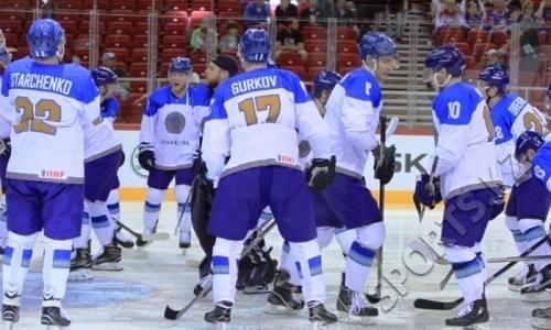 Сборная Казахстана потерпела поражение наЧМ-2018 похоккею