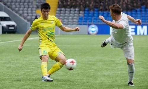 Абзал Бейсебеков провел 150-й матч за «Астану»