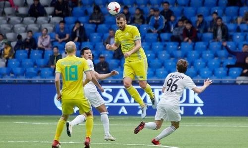 Аничич — лучший игрок матча «Астана» — «Тобол» по данным Instat