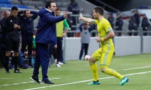 Деспотович — лидер «Астаны» среди бомбардиров матчей против «Кызыл-Жара СК»