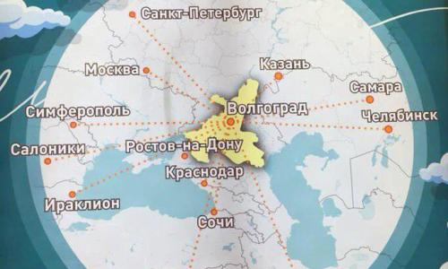 Международный аэропорт на карте к ЧМ-2018 Челябинск и Самару определил в Казахстан