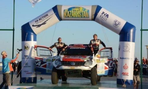 В Мангистау стартовал этап Кубка мира по ралли-рейдам