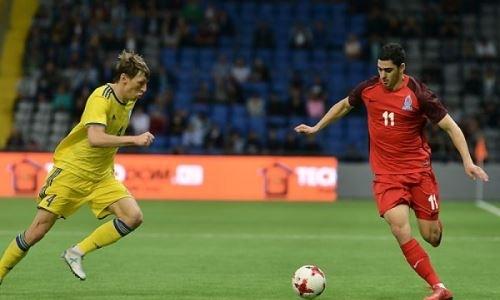 «Проиграли поделу». Футболист сборной Азербайджана подвел итог матча сКазахстаном