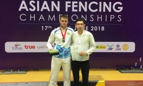 Казахстанец завоевал «серебро» чемпионата Азии