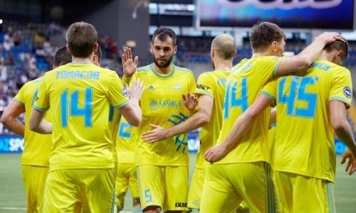 «Астана» после первого тайма выигрывает у «Сутьески» в Лиге Чемпионов