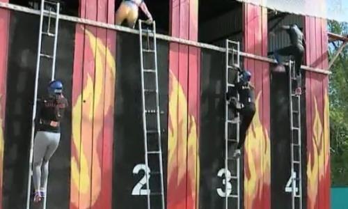 Чемпионат Казахстана по пожарно-спасательному спорту стартовал в Актобе