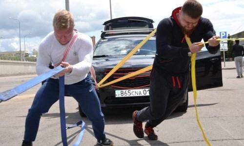 Человек против машин: спортсмены Астаны бросили вызов 15-ти авто