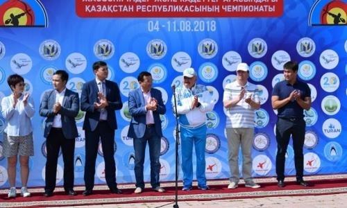 Чемпионат Казахстана по стрельбе из лука проходит в Акмолинской области