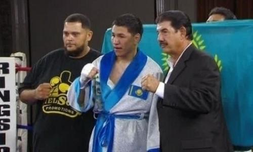 Непобежденный казахстанский боксер исключен из рейтинга IBF
