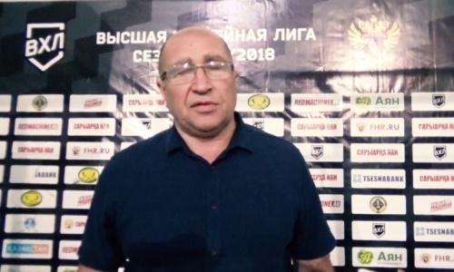 Владимир Капуловский: «Пришлось очень серьезно поговорить с ребятами в раздевалке, что в хоккей играют 60 минут»