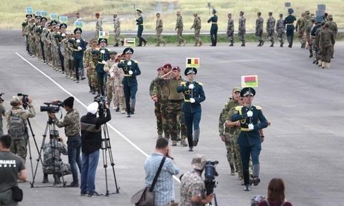 Международные соревнования снайперов стартовали в Карагандинской области