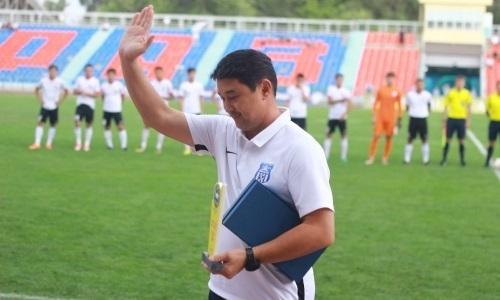 ПФЛК наградила главного тренера «Тараза»
