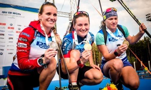 Вишневская выиграла вторую медаль на чемпионате мира по летнему биатлону