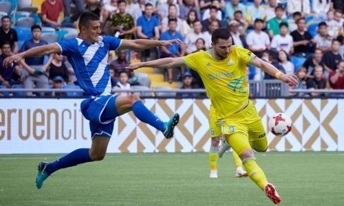 Покинувший «Астану» легионер подписал контракт с клубом Премьер-Лиги России