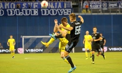 «Динамо» Загреб — «Астана» 1:0. Не стыдно, но неприятно