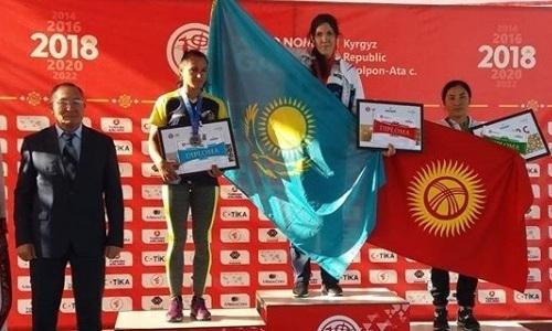 Казахстан с семью золотыми медалями возглавляет медальный зачет Всемирных игр кочевников