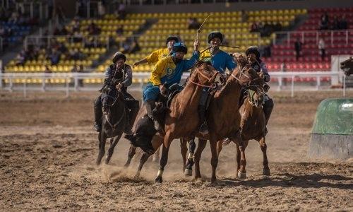 Казахстан разгромил сборную США по кокпару, или Как ковбои падали в тай-казан