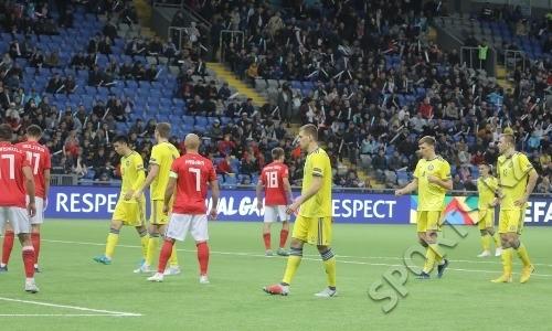 Видеообзор матча, или Как Казахстан уступил Грузии на старте Лиги наций