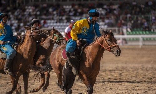 Сборная Казахстана по кокпару проиграла узбекам в полуфинале Всемирных игр кочевников