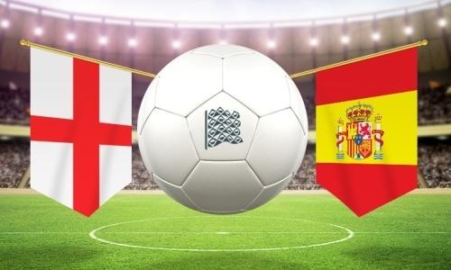 Англия испания футбол