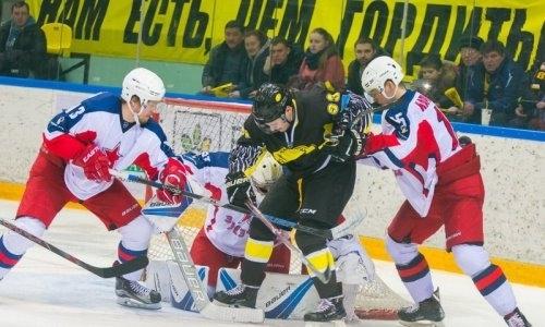 «Сарыарка» крупно проиграла «Звезде» в матче ВХЛ
