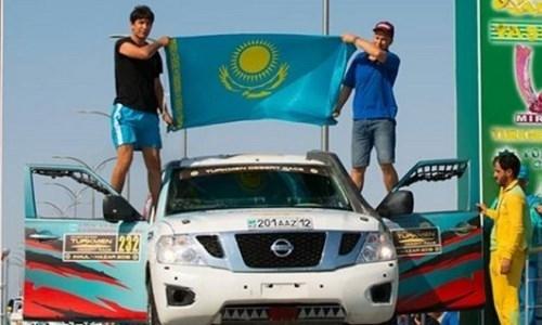 Казахстанские гонщики победили на международном ралли
