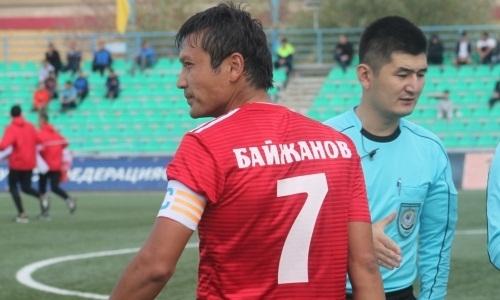 Байжанов провел 400-й матч в Премьер-Лиге